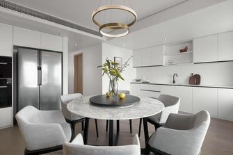 10-15万130平米三室两厅现代简约风格餐厅图