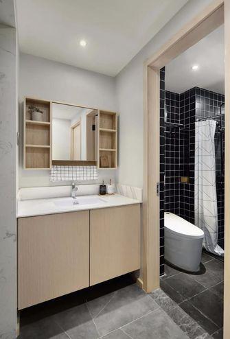 经济型80平米现代简约风格卫生间图片