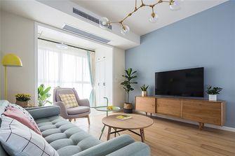 富裕型100平米四北欧风格客厅设计图