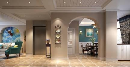 140平米四室两厅地中海风格玄关图片
