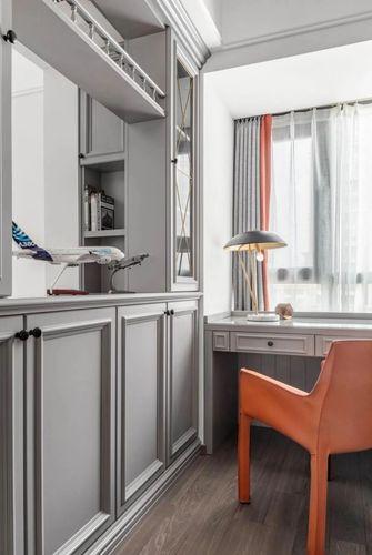 20万以上130平米三室两厅美式风格书房效果图