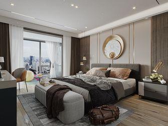 140平米四轻奢风格卧室图片大全