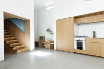 富裕型30平米以下超小户型北欧风格楼梯间装修案例
