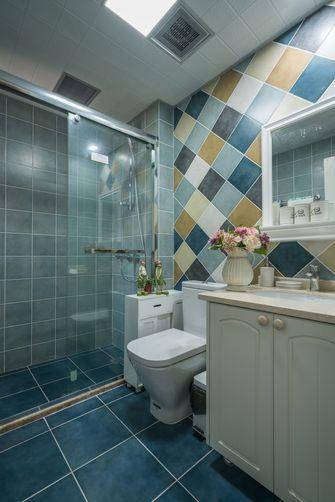 10-15万110平米三室一厅田园风格卫生间图片