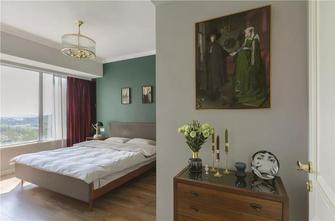 富裕型90平米四室一厅北欧风格卧室装修案例