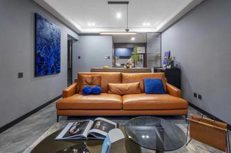 15-20万110平米三室一厅现代简约风格客厅装修效果图