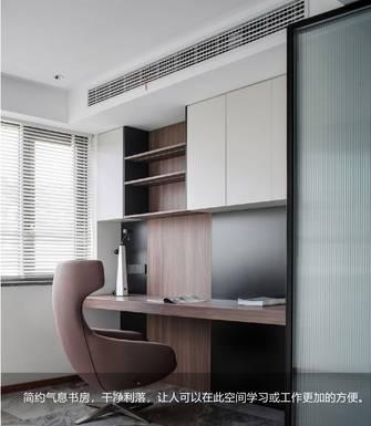 10-15万120平米三室两厅现代简约风格书房效果图