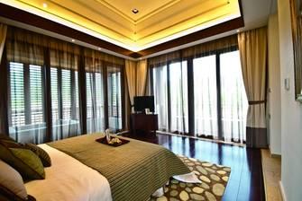 140平米四东南亚风格客厅效果图
