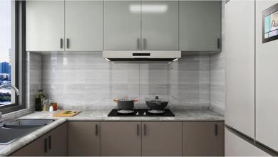 经济型90平米三室两厅英伦风格厨房设计图