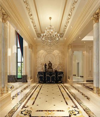 140平米别墅欧式风格玄关设计图