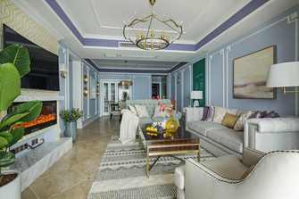 10-15万110平米三室两厅欧式风格客厅图片大全