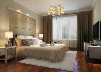 15-20万120平米三室三厅欧式风格卧室装修图片大全