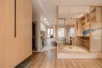 富裕型80平米日式风格书房图