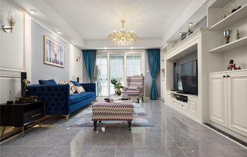 富裕型100平米法式风格客厅设计图