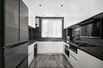 60平米公寓英伦风格厨房图