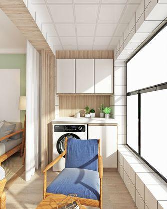 豪华型120平米三室两厅北欧风格阳台图片大全