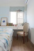 110平米三田园风格卧室效果图