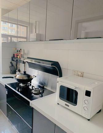 经济型80平米三室两厅北欧风格厨房图