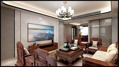 20万以上110平米三室三厅中式风格客厅装修案例