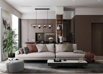 豪华型100平米四室两厅现代简约风格客厅图片大全
