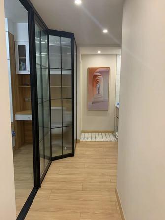 80平米三室两厅日式风格走廊设计图