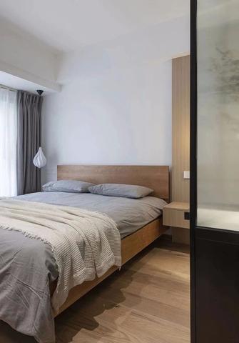 10-15万120平米三室一厅日式风格卧室装修案例