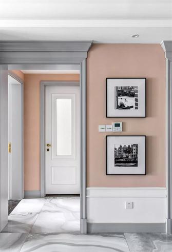 富裕型110平米三室两厅美式风格玄关装修案例