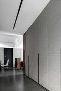 富裕型140平米四现代简约风格走廊设计图