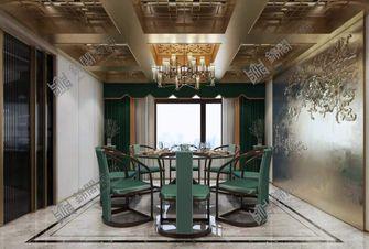 140平米中式风格餐厅效果图
