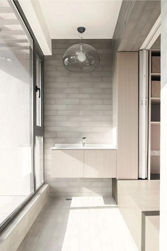 富裕型130平米三室两厅现代简约风格阳台设计图