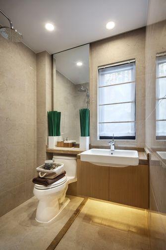 富裕型三室两厅轻奢风格卫生间效果图