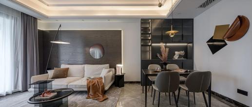 3-5万80平米三轻奢风格客厅欣赏图