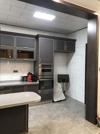 140平米三室三厅轻奢风格厨房装修图片大全