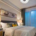 经济型60平米北欧风格卧室图片大全
