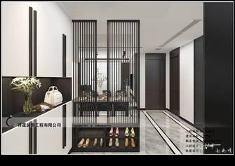 130平米三室三厅现代简约风格走廊装修效果图