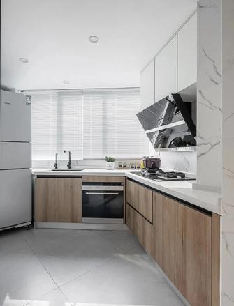 80平米一室两厅现代简约风格厨房装修图片大全