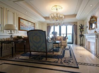 豪华型130平米三室两厅美式风格客厅效果图