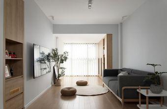 经济型90平米三室一厅日式风格客厅装修案例