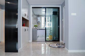 富裕型80平米三室两厅北欧风格玄关图