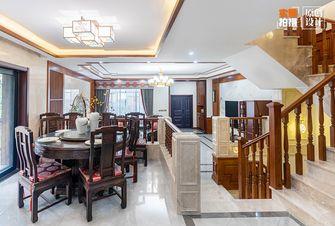 豪华型140平米别墅中式风格餐厅装修图片大全