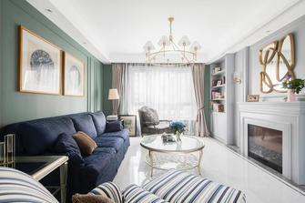 140平米三室两厅美式风格客厅效果图