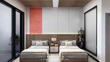 豪华型140平米公装风格卧室效果图