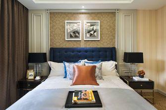 100平米三室一厅英伦风格卧室图片