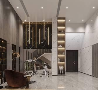 140平米别墅现代简约风格健身房图片