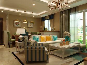 富裕型80平米三室三厅欧式风格客厅设计图