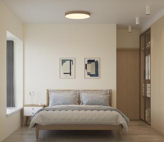 130平米三日式风格卧室设计图