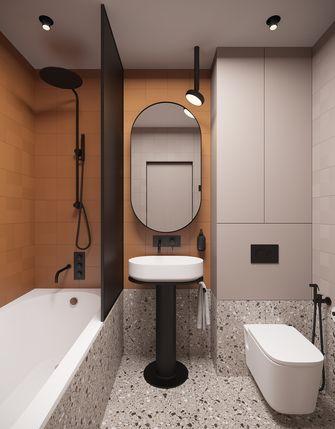富裕型70平米公寓北欧风格卫生间图片大全