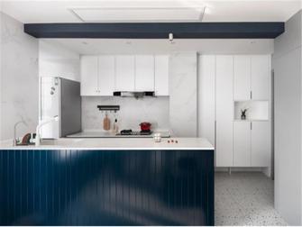 10-15万90平米三室两厅现代简约风格厨房图片