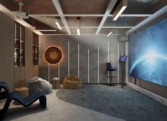 豪华型140平米别墅现代简约风格影音室图