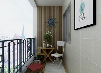 10-15万100平米三室四厅地中海风格阳台图
